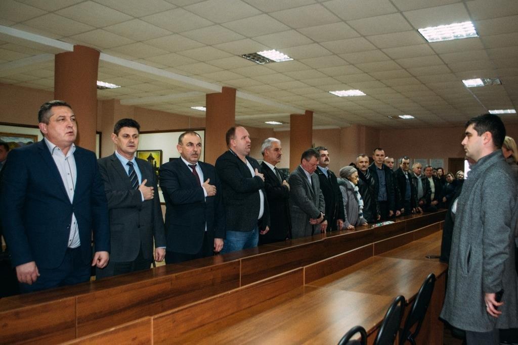 У Тячеві відбулися урочистості до Дня Соборності України: фото