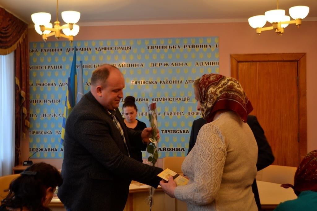 Відбулася урочиста церемонія нагородження багатодітних матерів Тячівщини