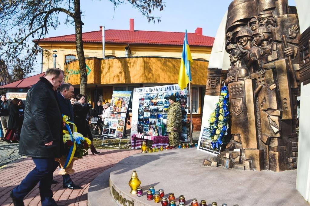 На Тячівщині вшанували Героїв Небесної Сотні: ФОТО