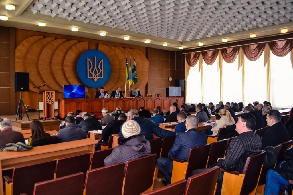Відбулося перше пленарне засідання Тячівської районної ради