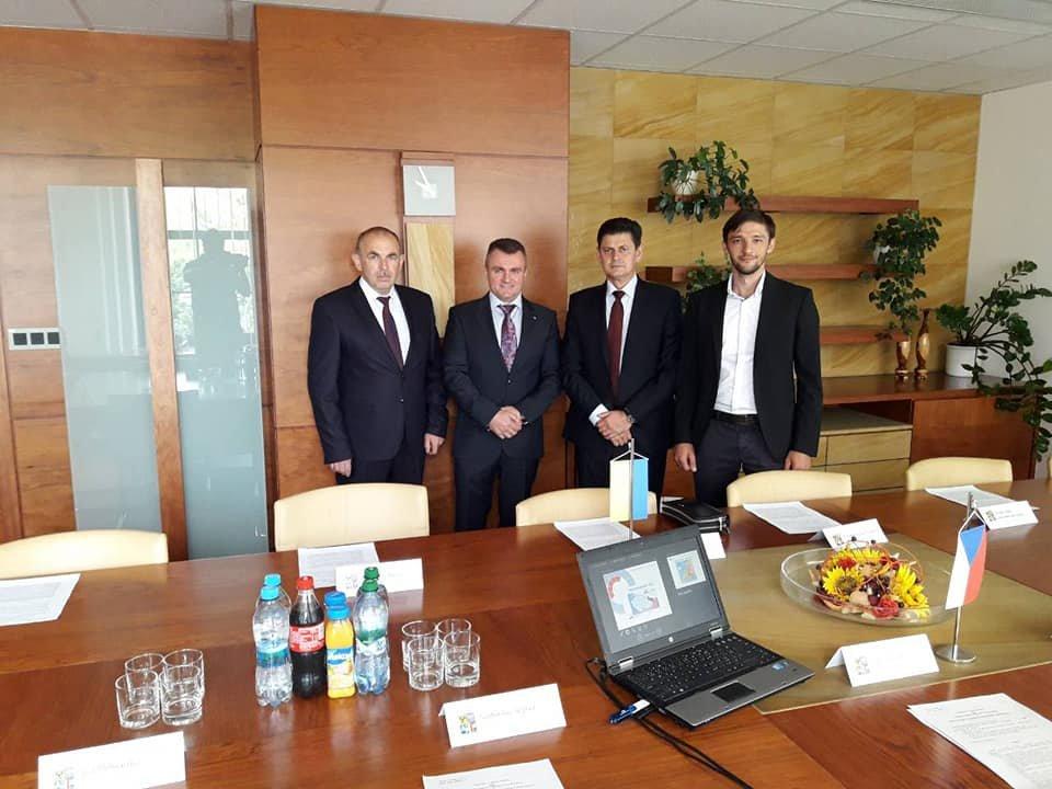 Тячівська делегація в рамках програми про співпрацю відвідала Моравськосілезький край Чеської республіки