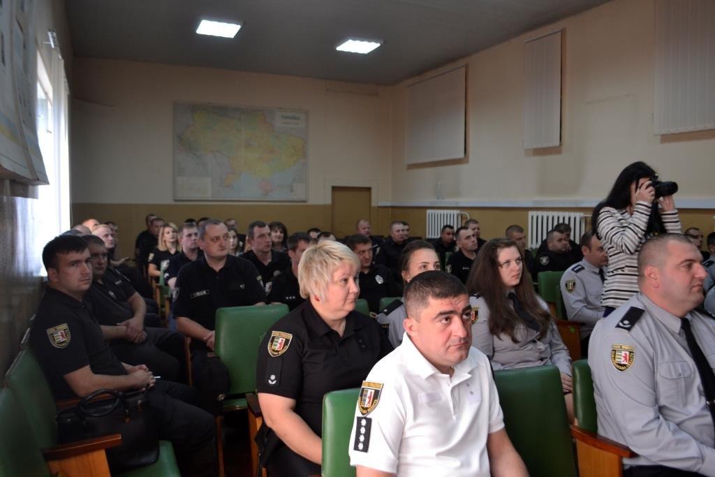 На Тячівщині пройшли урочистості з нагоди Дня Національної поліції України