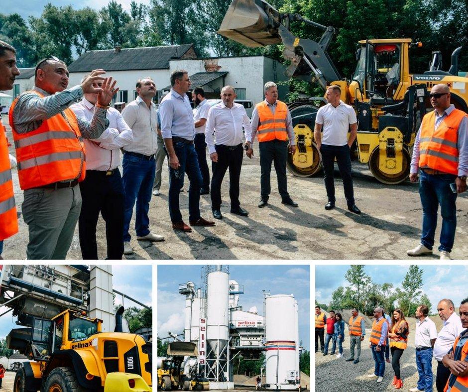 На Тячівщині запрацював новий асфальтний завод (ФОТО)